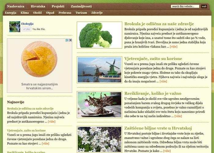 ekologija screenshot