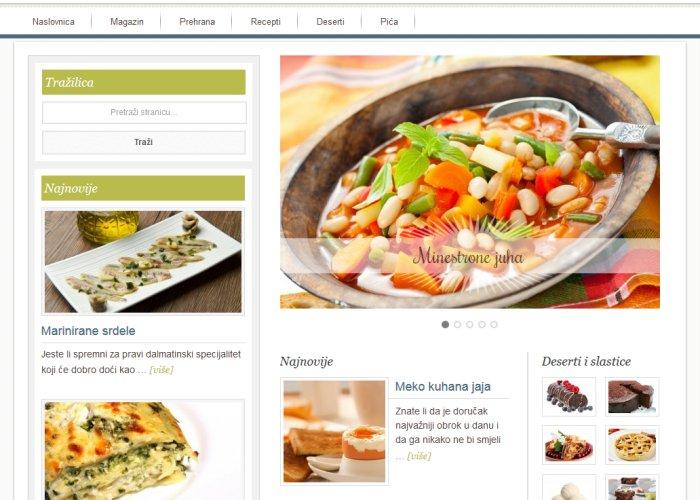 gastronomija screenshot